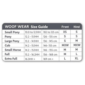 Woof Wear Woof Club Fetlock Boot - Black