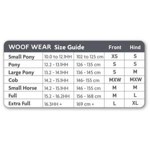 Woof Wear Woof Kevlar Exercise Boot - Black