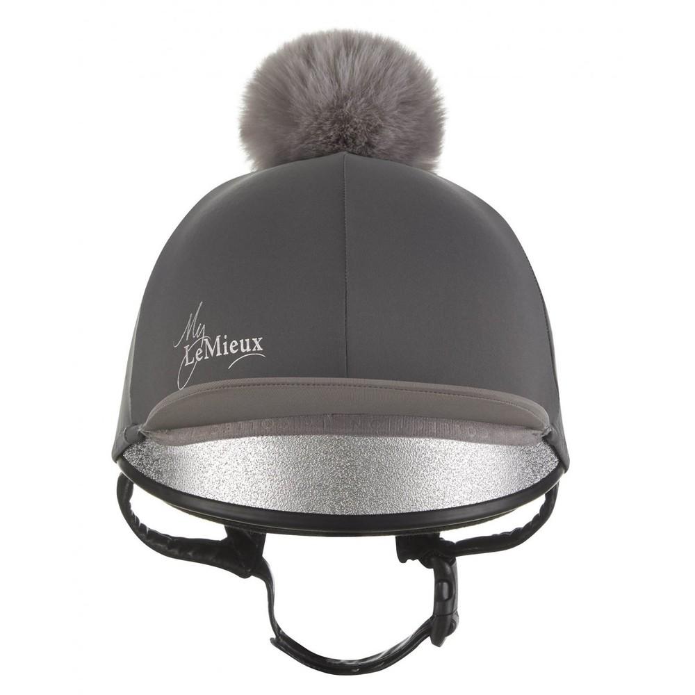 LeMieux Pom Pom Hat Silk - Slate Grey in Slate Grey
