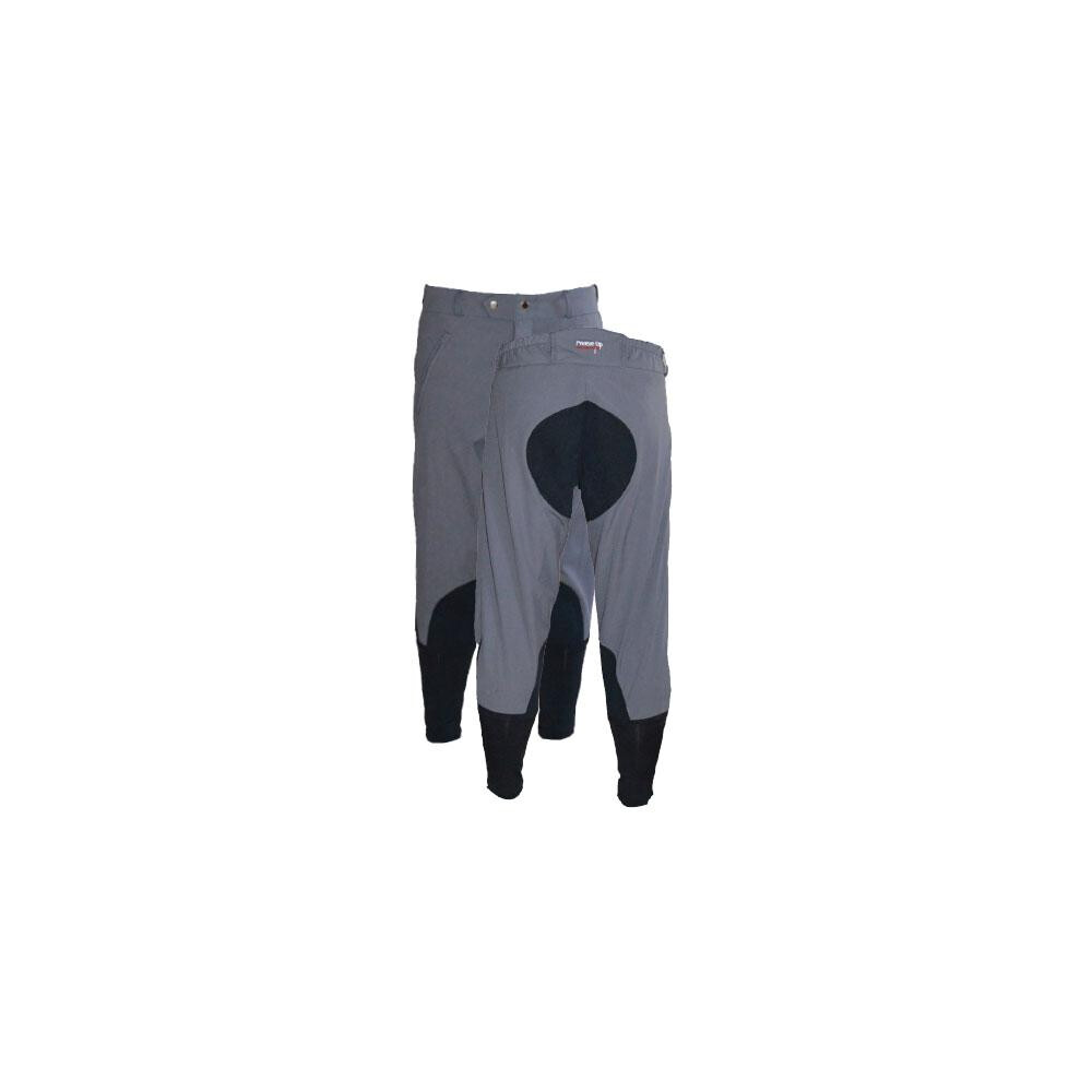 Celtic Equine Supplies Breeze Up 3/4 length EXERCISE Breeches -  Charcoal Grey in Charcoal Grey