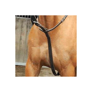 Celtic Equine Supplies Polo Standing Martingale in Brown