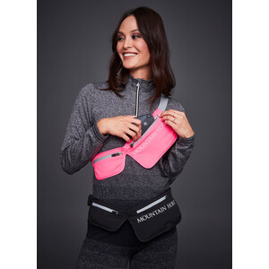Mountain Horse Double Pocket Waistbag - Pink in Pink
