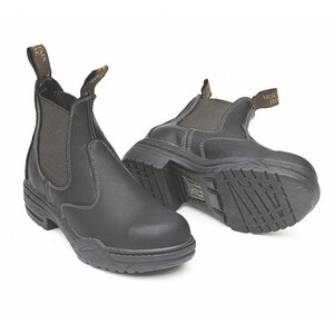 Mountain Horse Protective Jodphur Boot - Brown in Brown