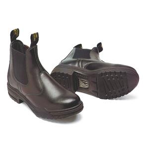 Mountain Horse Stable Jodhpur Boot - Black in Black