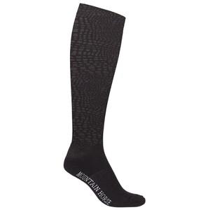 Mountain Horse Croc Sock (2 Pack) - Black/Pink