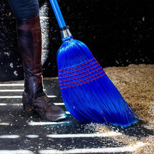 Red Gorilla Deluxe Broom Large -  Blue in Blue