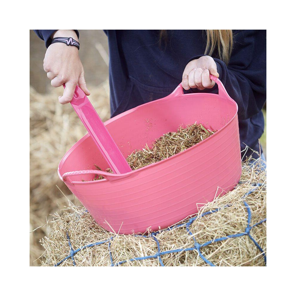 Red Gorilla Flexible Small Shallow - 15L in Pink