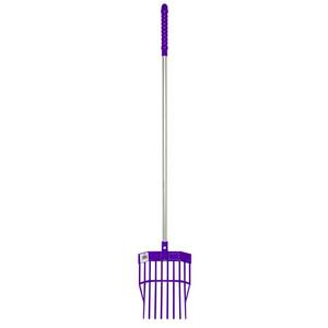 Red Gorilla Tidee Mini Bedding Fork in Purple