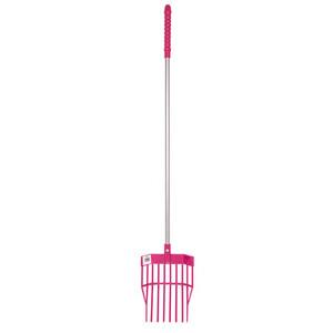 Red Gorilla Tidee Mini Bedding Fork in Pink
