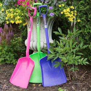 Red Gorilla Shovels in Purple