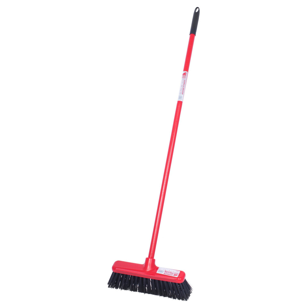 Red Gorilla 30cm Broom Head with Short Handle in Red