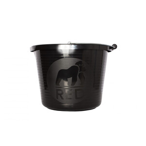 Red Gorilla Premium Bucket in Black