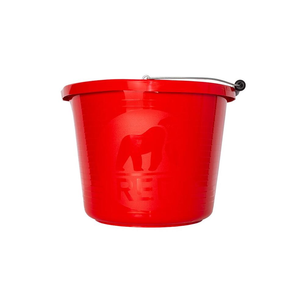 Red Gorilla Premium Bucket in Red