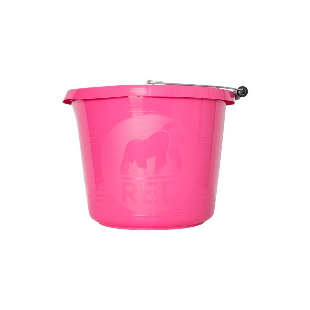 Red Gorilla Premium Bucket in Pink