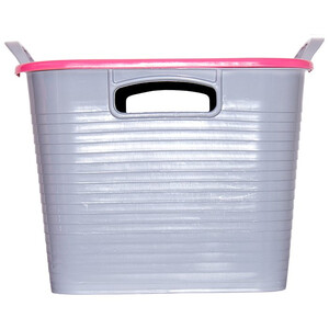 Red Gorilla Tub & Lid in Pink
