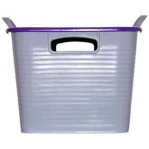 Red Gorilla Tub & Lid in Purple