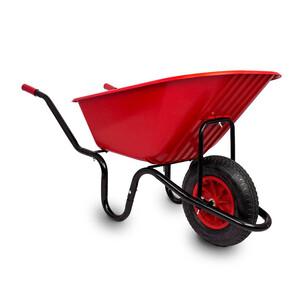 Red Gorilla 90Ltr Wheelbarrow Puncture Proof Tyre