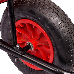 Red Gorilla 90Ltr Wheelbarrow Puncture Proof Tyre in Red