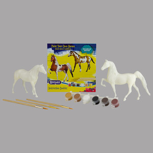 Breyer Paint Your Own Horse-Quarter Horse & Saddlebred