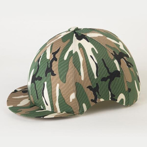 Jenkinsons Capz Lycra Skull Cover - Camouflage in Camouflage