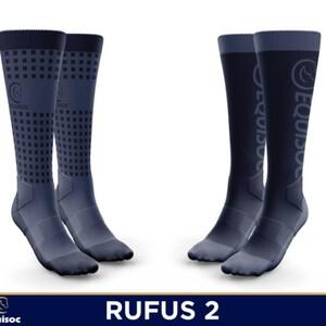 Equisoc Mens Rufus 2 -  Navy/Royal Blue Dots in Navy/Royal Blue/Dots