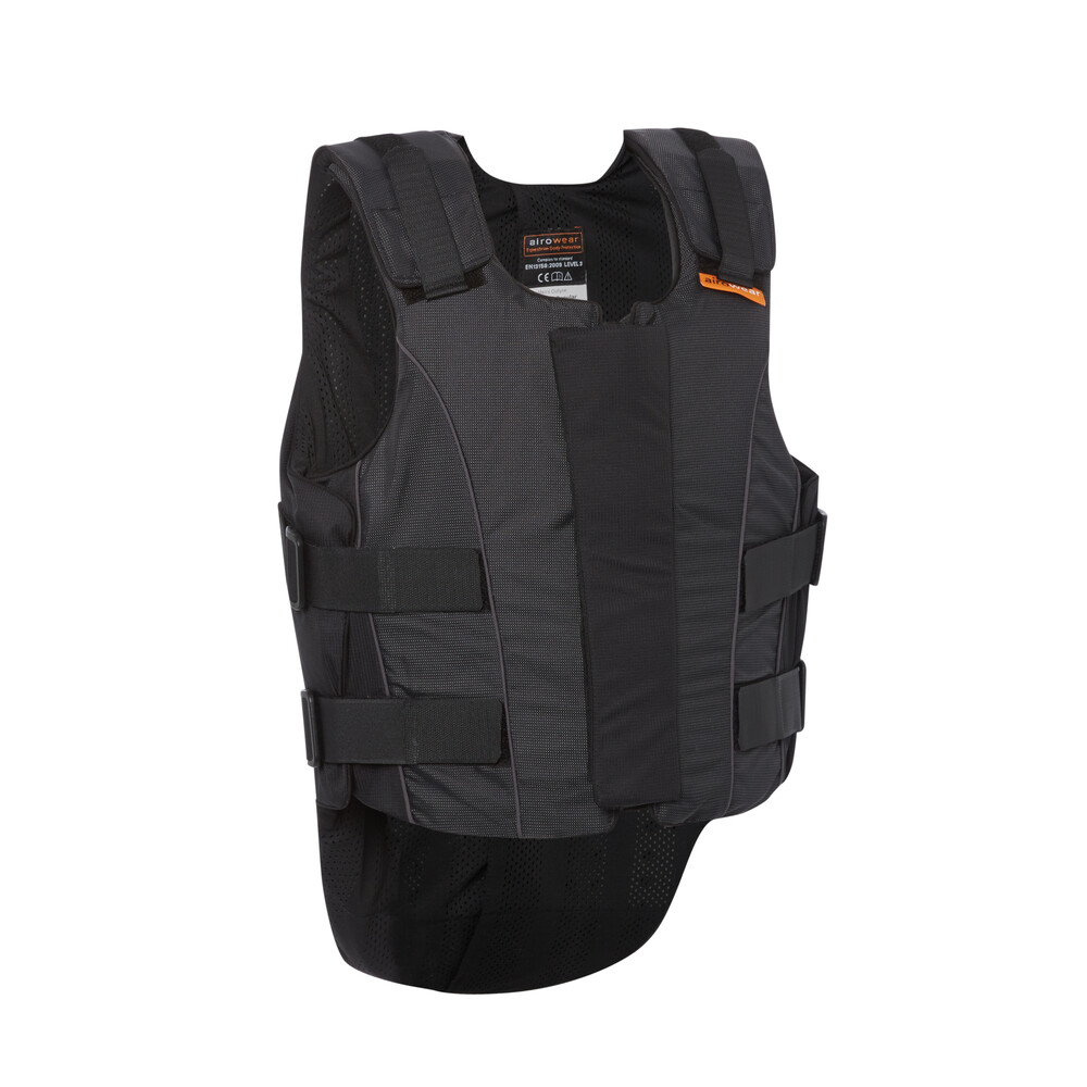 Airowear Outlyne Gents Body Protector - Short in Black