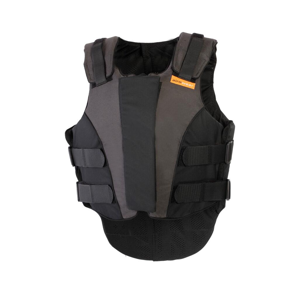 Airowear Outlyne Ladies Body Protector - Long in Black