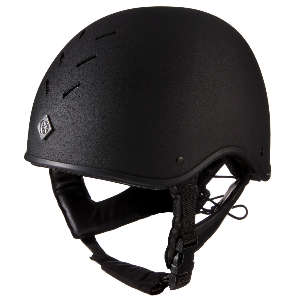 Charles Owen MS1 Pro Skull - Round Fit in Black