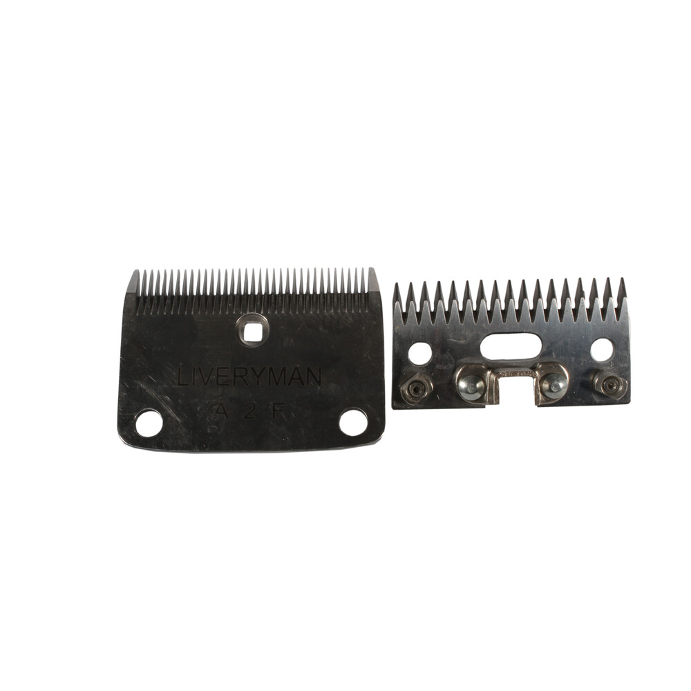 Liveryman Lister Fit Cutter & Comb A2 Fine With Metal Lugs in Unknown