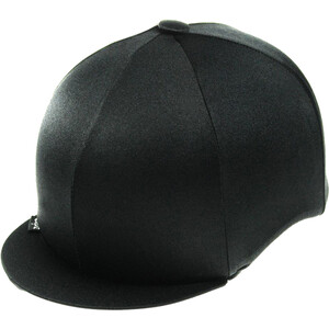 Capz Lycra Hat Cover Plain in Black