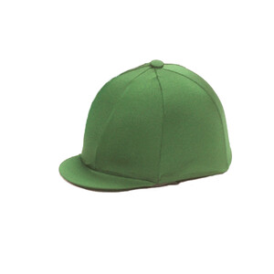 Capz Lycra Hat Cover Plain in Green