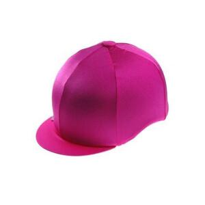 Capz Lycra Hat Cover Plain in Cerise