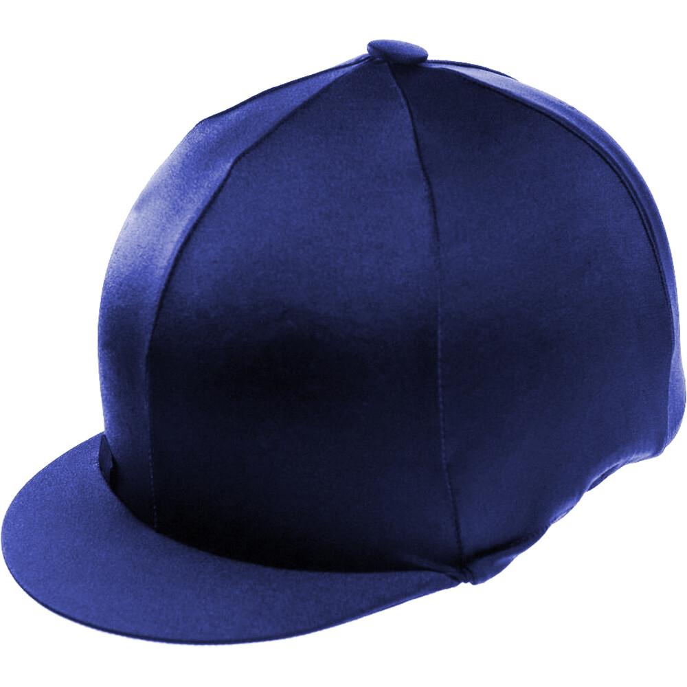 Capz Lycra Hat Cover Plain in Navy