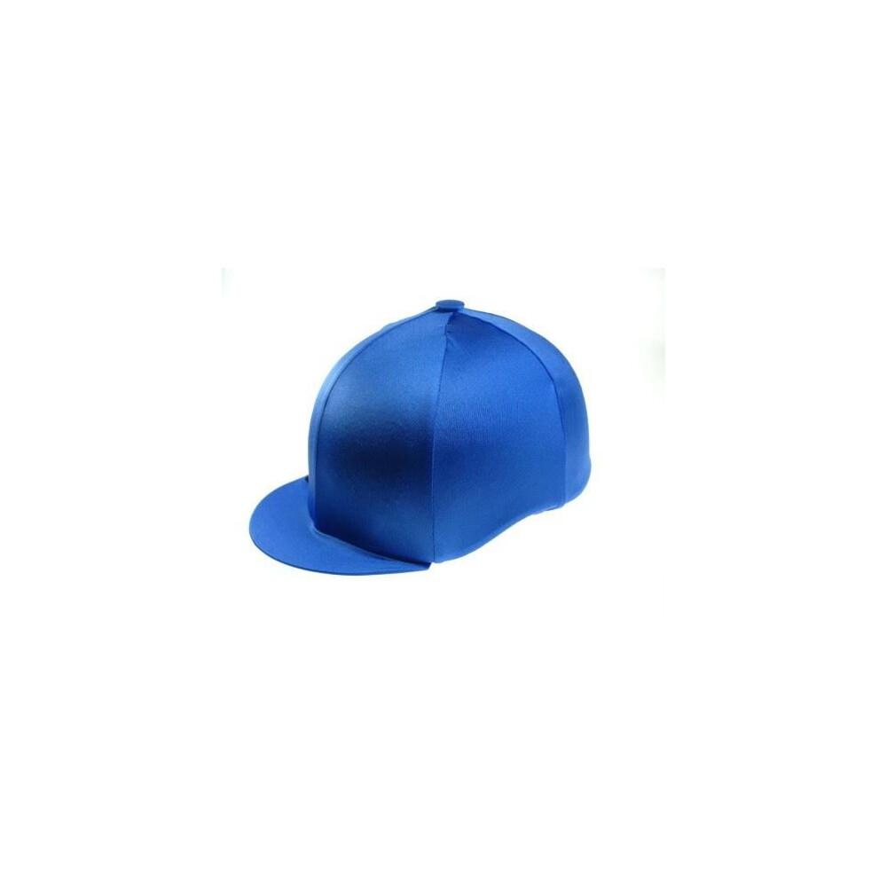 Capz Lycra Hat Cover Plain in Royal Blue