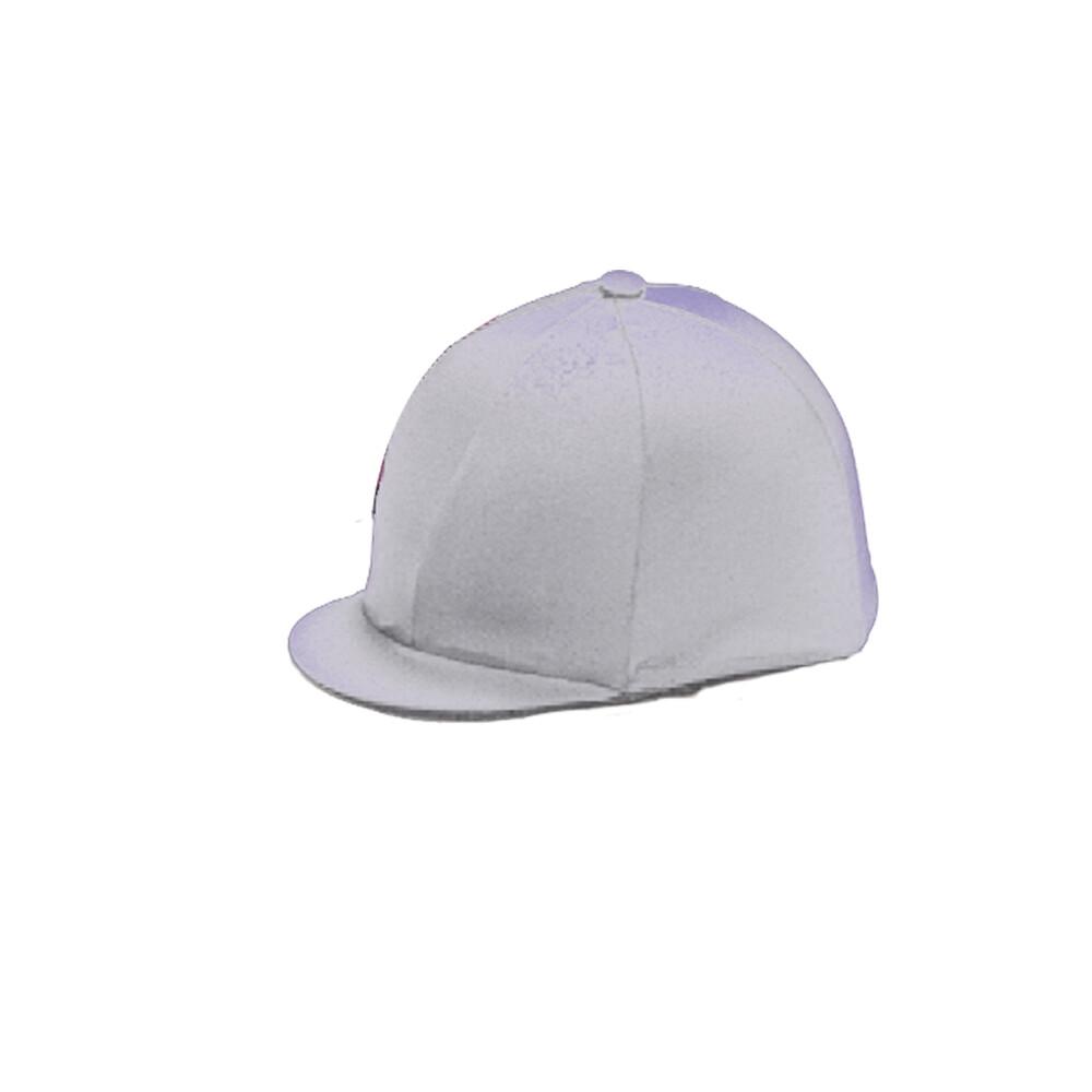 Capz Lycra Hat Cover Quartered in Purple