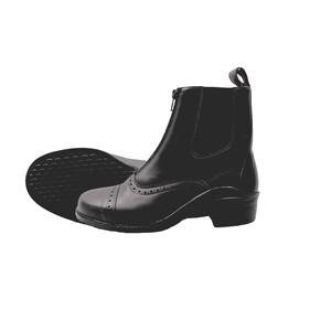Mackey Beech Zip Boots in Black