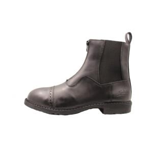 Mackey Oak Zip Paddock Boot in Black