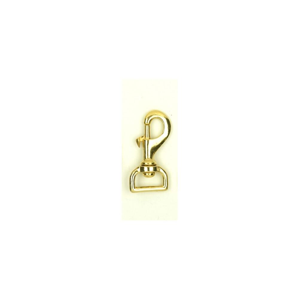 Equisential Trigger Hook Brass 1 inch in Brass