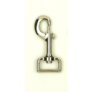 Equisential Trigger Hook Brass 1 inch in Nickel