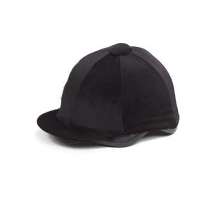 Capz Velvet Hat Cover in Black