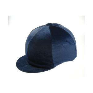 Capz Velvet Hat Cover in Navy