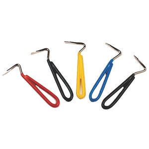 Equisential Vinyl Covered Hoof Pick - Assorted in Assorted