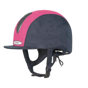 Champion Junior X-Air Plus Hat - Navy/Hot Pink in Navy/Hot Pink
