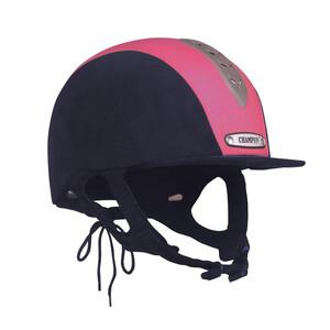 Champion Junior X-Air Plus Hat - Navy/Hot Pink