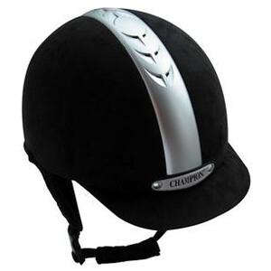 Champion Ventair Riding Hats - Black in Black