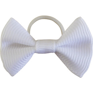 Equitheme Show Bows in White