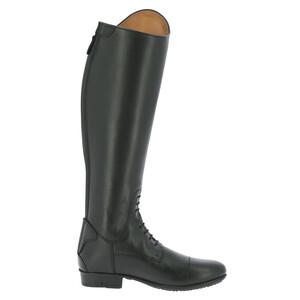 Equitheme Primera Lisse Tall Boot - Medium Calf - Black in Black