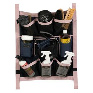 Equitheme Stable Organiser in Navy/Pink
