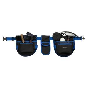 Equitheme Grooming Belt in Black/Blue