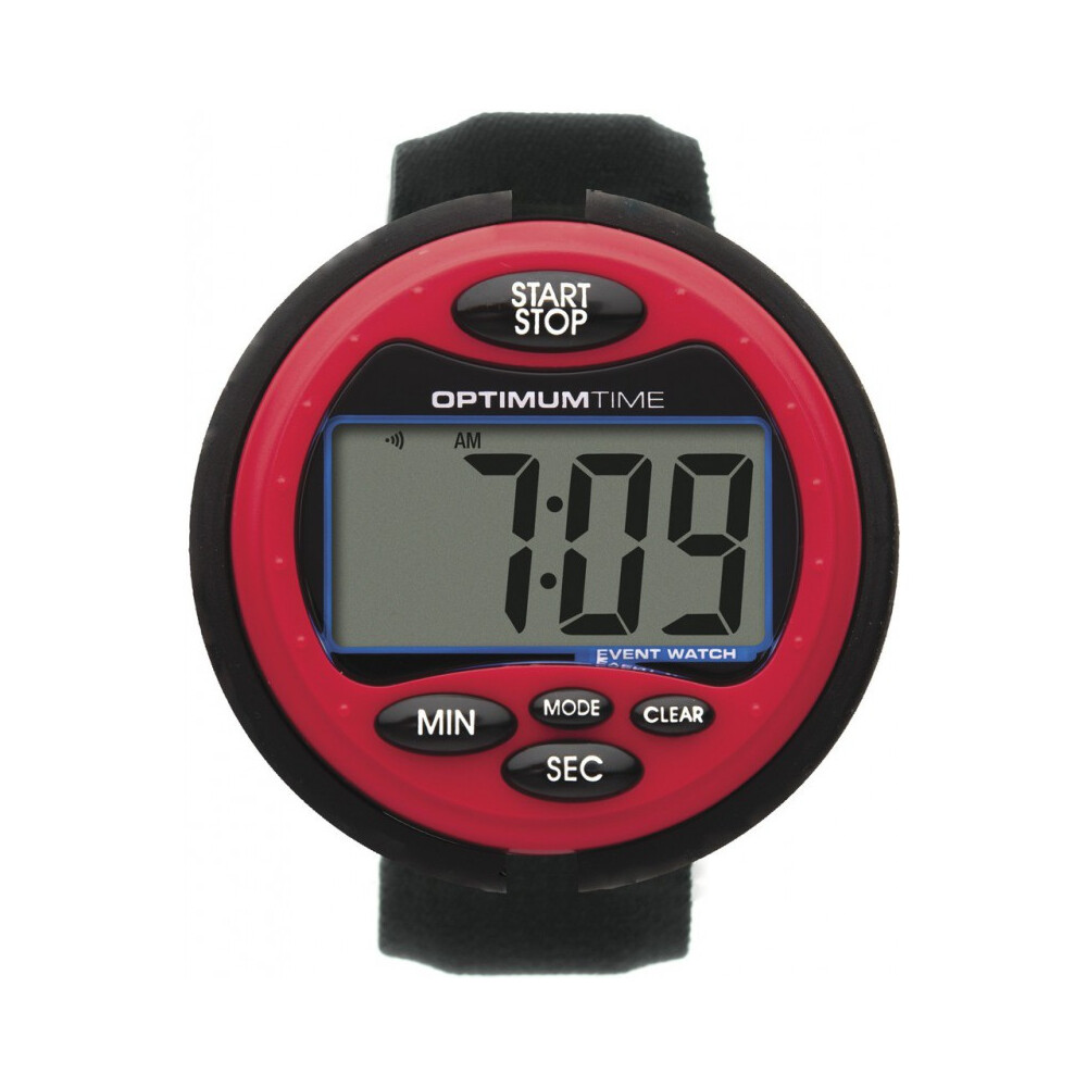 Optimum Time Eventwatch in Red